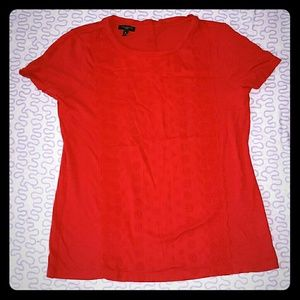 Talbots Red Blouse